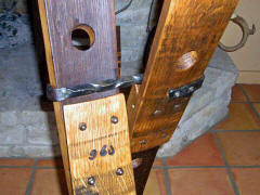 Wine Barrel Accessories - Wine Barrel Stave 16 bottle Wine Rack
