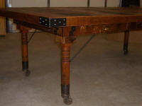 Wine Barrel Tables - Wine Barrel Chefs Table