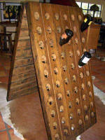 Wine Barrel Accessories - Riddling Rack Half Rack