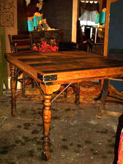 Wine Barrel Tables - European Style Gathering Table