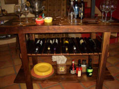 Wine Barrel Accessories - Wine Barrel Bar