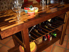 Wine Barrel Tables - Wine Barrel Bar