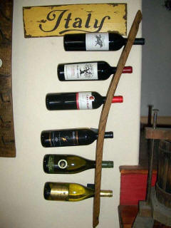 Wine Barrel Accessories - Wine Barrel Stave Wine Rack