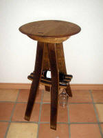 Wine Barrel Tables - Wine Barrel Tete-a-Tete Tasting