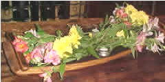 Wine Barrel Accessories - Flower Basket