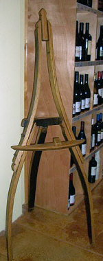 Wine Barrel Accessories - Wine Barrel Easel