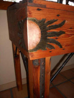 Wine Barrel Accessories - Custom Display Piece