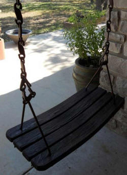 Wine Barrel Accessories - Wine Barrel Swing
