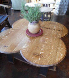 Wine Barrel Tables - Wine Barrel Tables - Cocktail Clover